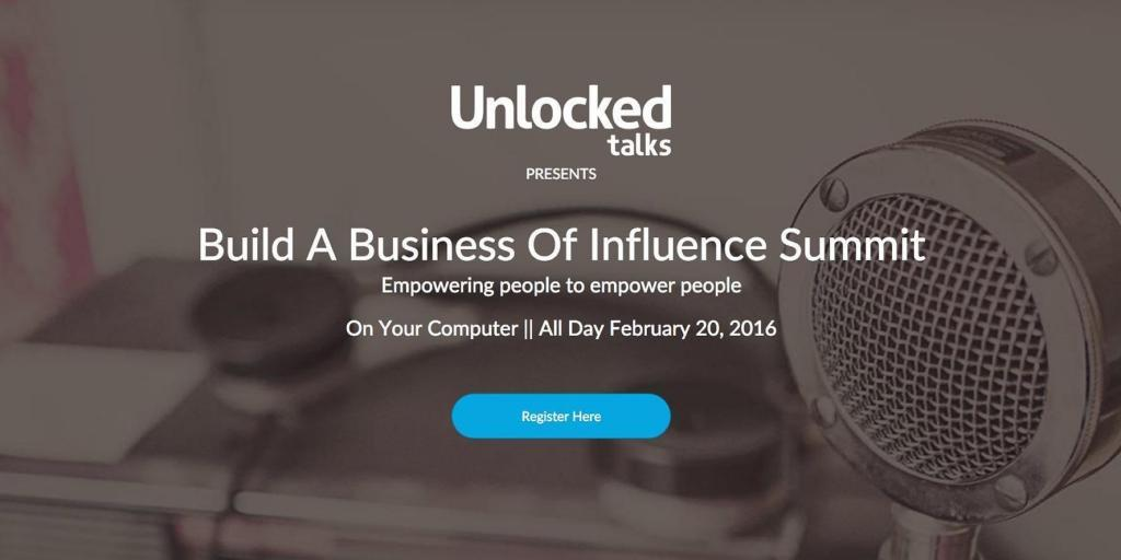 Build A Business Of Influence Summit 2016